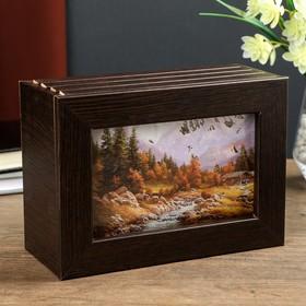 "Fotoboks ""Mountain river"" photo, alder, 13x18 cm, 96 PCs"