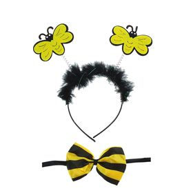 Карнавальный набор «Пчёлка», 2 предмета: ободок, бабочка в Донецке