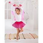 """Карнавальный набор """"Фея"""", 4 предмета: ободок, жезл, крылья, юбка, 4-6 лет"""