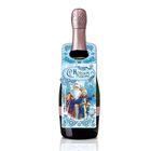 """Набор для украшения подарочной бутылки """"Морозный"""", 21 х 29 см"""