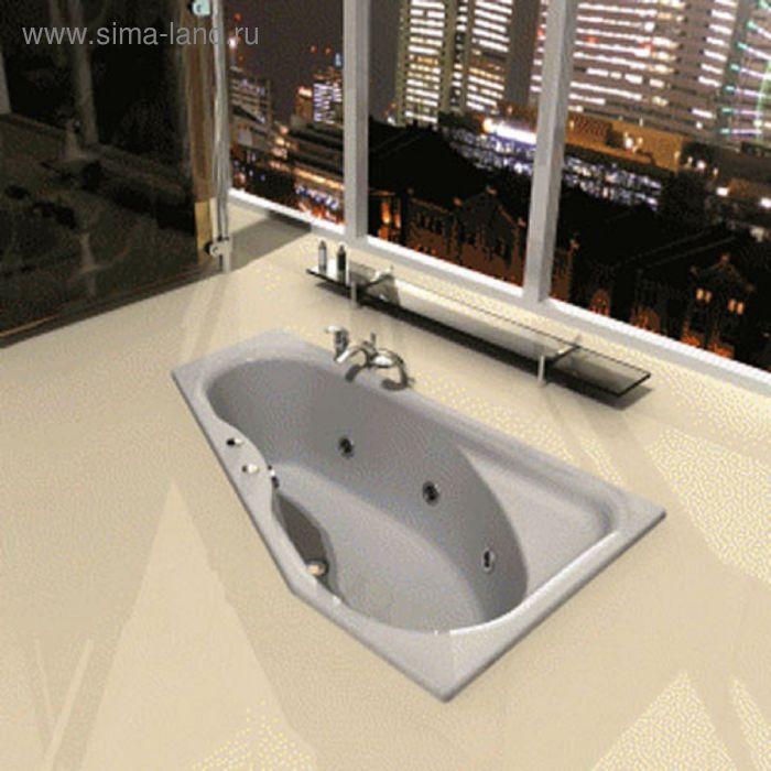 Ванна акриловая АКВАТЕК Медея 170х95 правая, с фронтальным экраном
