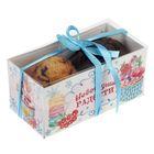 """Коробочка для кексов """"Новогодние радости"""", 8 х 16 х 7,5 см"""