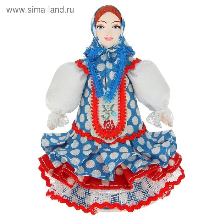 """Сувенирная кукла """"Матрёна в праздничном костюме"""" Россия, 19 в."""