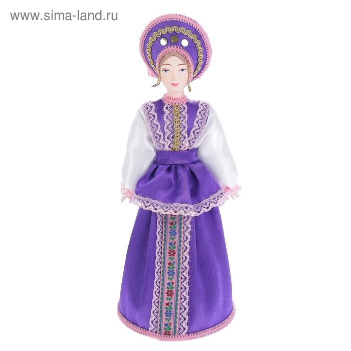 """Сувенирная кукла """"Софья в в традиционном костюме"""" начало 20 в. Россия"""