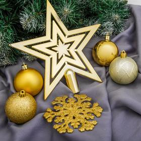"Christmas decorations of the ""Golden platter"" (set 17 PCs.)"