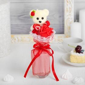Букет «Я люблю тебя», красный цветок
