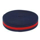Резинка, ширина 35мм, 10±1м, цвет сине-красный