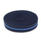 Резинка, ширина 35мм, 10±1м, цвет синий с полосками