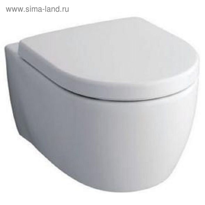 Унитаз подвесной без ободка Keramag iCon F204060000