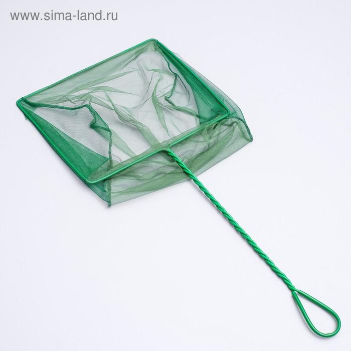 Сачок для рыб ALEAS, 30 см, зеленый