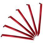 Комплект колышков V-образных  v2, Красный металлик