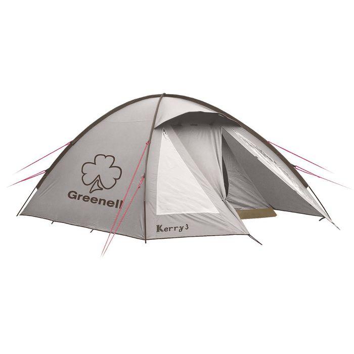 """Палатка """"Керри 3 V3"""" Коричневый"""