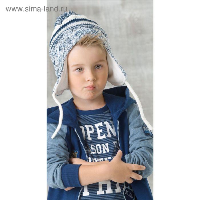 Шапка для мальчиков, размер 48-50, цвет серый  BQ372/2