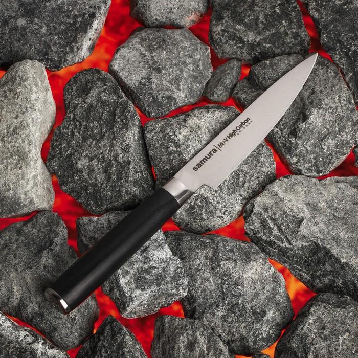 Нож кухонный Samura Pro-S универсальный, лезвие 12 см, высокоуглеродистая сталь AUS-8