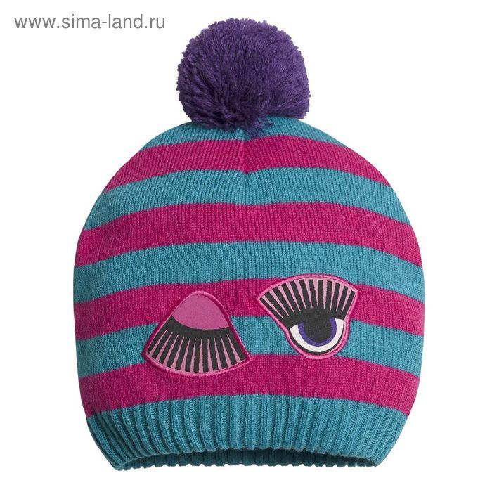 Шапка для девочек, размер 48-50,  цвет малиновый  GQ3002/1