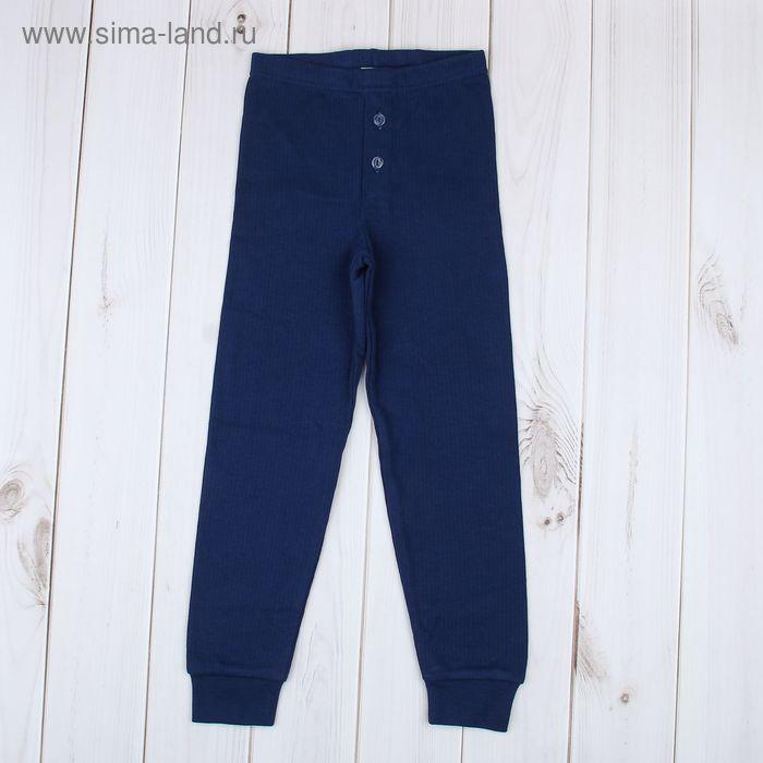 Кальсоны для мальчика, рост 104 см, цвет синий (арт. 729-AZ_Д)