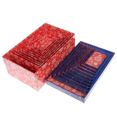 """Набор коробок 10 в1 """"Узорные шарики"""", 12 х 7 х 4 см - 32,5 х 20 х 12,5 см"""