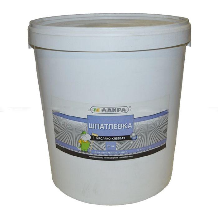Шпатлёвка масляно-клеевая, 25 кг ( 22 шт/пал)