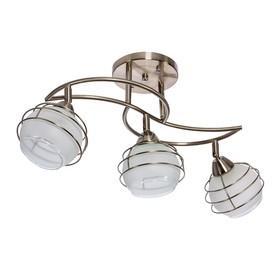 Люстра модерн 'Аврора' 3 лампы (220V 60W E27) Ош