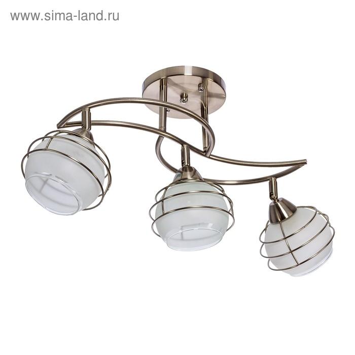 """Люстра модерн """"Аврора"""" 3 лампы (220V 60W E27)"""