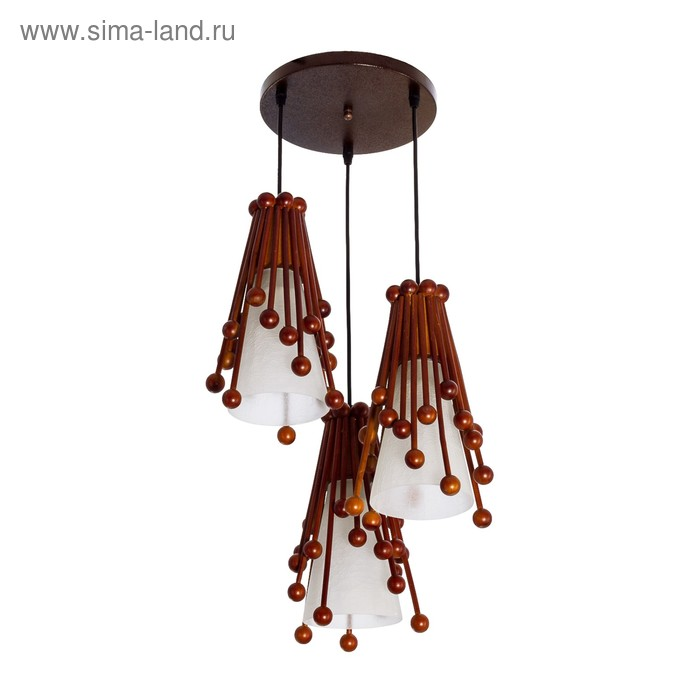 """Люстра подвес """"Летиция"""" 3 лампы"""