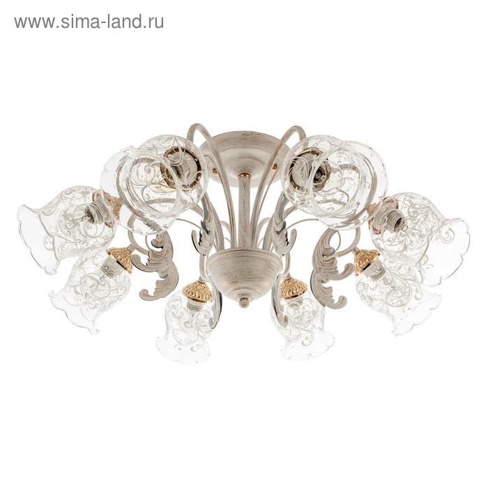 """Люстра классика """"Джина"""" 8 ламп (220V 40W E14)"""
