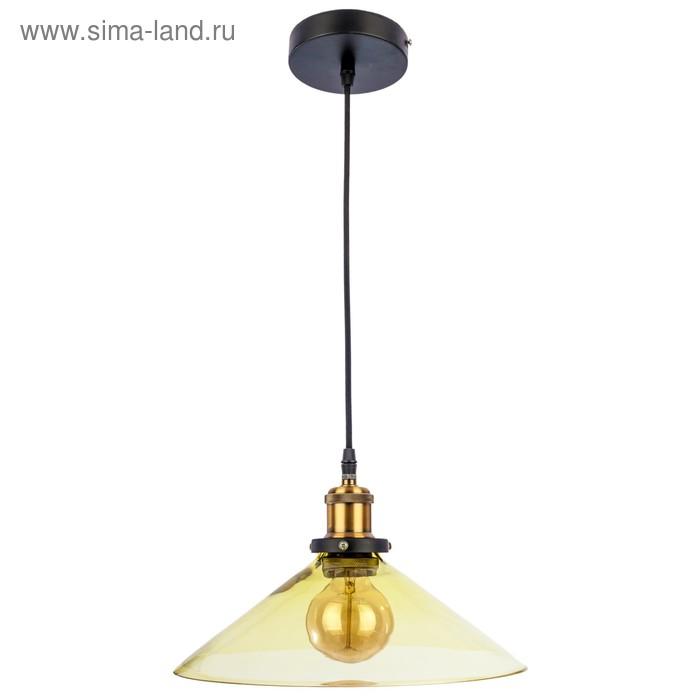 """Светильник потолочный """"Ливадия"""" 1 лампа, зелёный"""