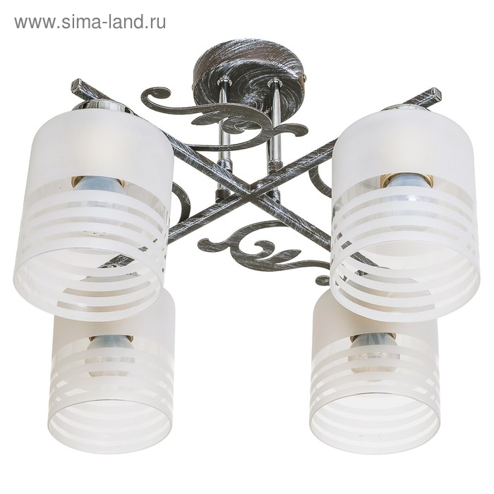 """Люстра модерн """"Фест"""" 4 лампы (220V 40W E27)"""
