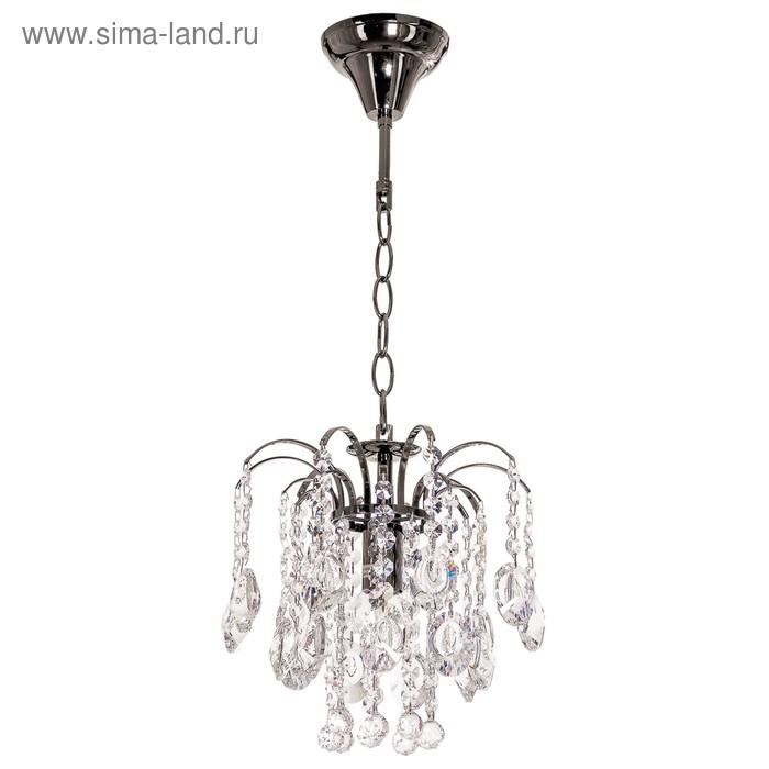 """Люстра """"Аврил коричневая"""" 1 лампа (220V 40W E27)"""