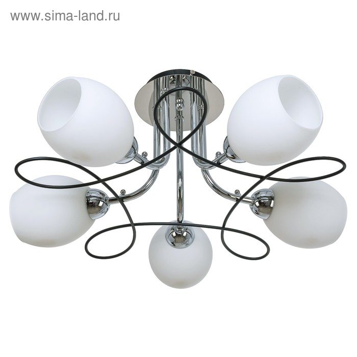 "Люстра еврокаркас ""Дарина"" 5 ламп (220V 60W E14)"