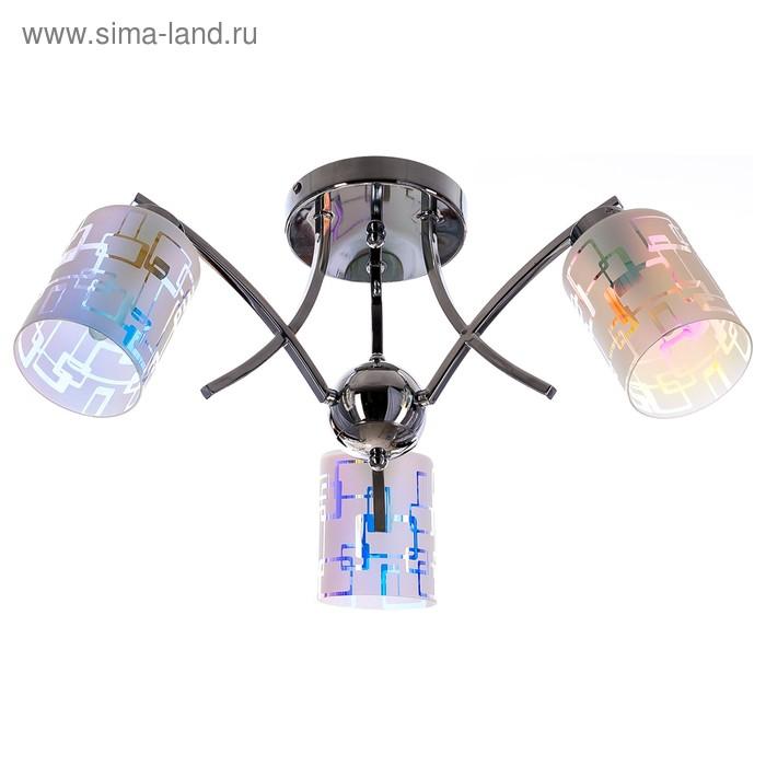 """Люстра модерн """"Гортензия"""" 3 лампы (220V 60W E27)"""