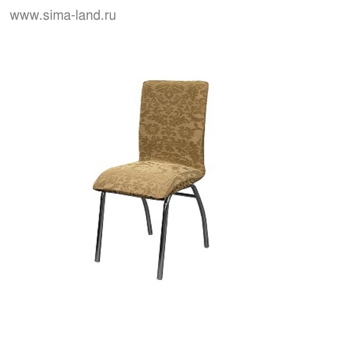Чехол на стул Челтон, высота спинки от 40 до 60 см, цвет бежевый