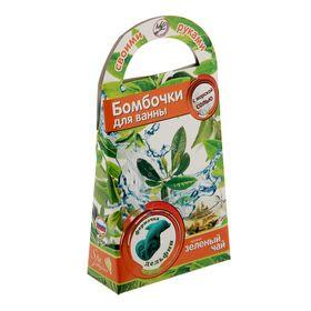 Делаем бомбочки для ванн 'Дельфин', аромат зелёного чая Ош