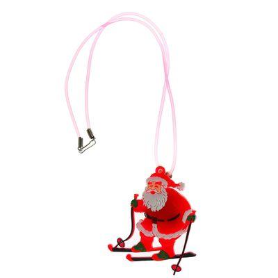 """Подвеска световая """"Дед Мороз на лыжах"""""""