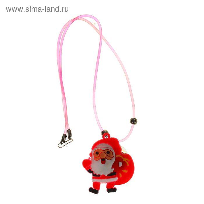 """Подвеска световая """"Дед Мороз с подарками"""""""
