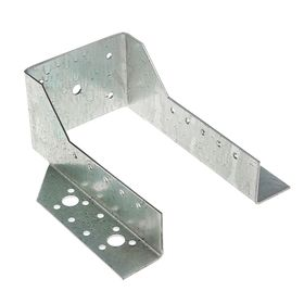 Опора бруса открытая OBR R, 100x175 мм, в коробке 10 шт.