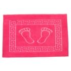 Коврик для ног махровый GURSAN с резиновой основой 50*70см т-розовый, 550 гр/м