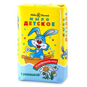Детское мыло Невская Косметика, с ромашкой, 90 г