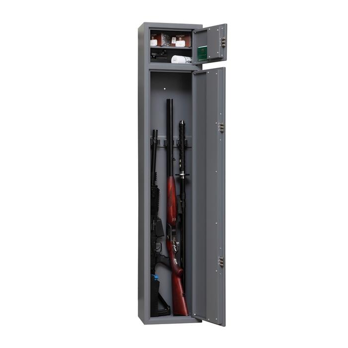 """Сейф оружейный шкаф """"Канонир"""", нижняя внутренняя секция 128 см"""