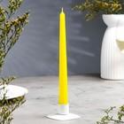 Свеча античная жёлтая