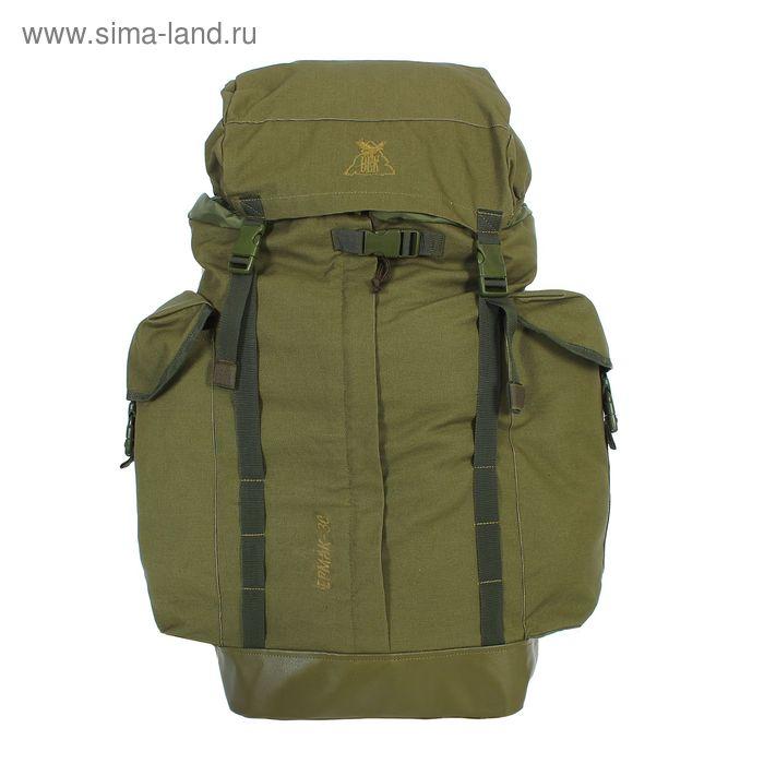 """Рюкзак туристический """"Ермак"""", 1 отдел, 2 наружных кармана, объём - 30л, цвет хаки"""