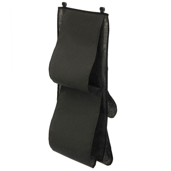 Органайзер для сумок подвесной, 80х45 см, цвет черный