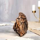 """Статуэтка """"Ангел в крыле"""" 17 см, бронзовый цвет - фото 1700220"""