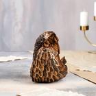 """Статуэтка """"Ангел в крыле"""" 17 см, бронзовый цвет - фото 1700221"""