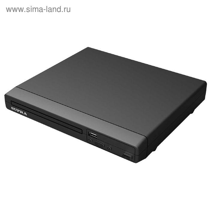 DVD плеер SUPRA DVS-201X, черный