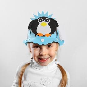 Carnival hat carved Penguin