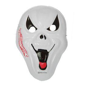 Карнавальная маска 'Крик' с шрамом на резинке Ош