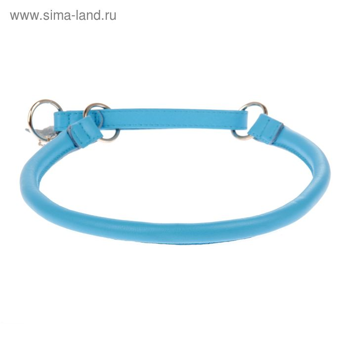 Ошейник-удавка CoLLaR Glomour, 70 х 1,3 см, синий