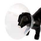 Воротник пластиковый  для собак и кошек, размер S-M, 31-38 х 15 см