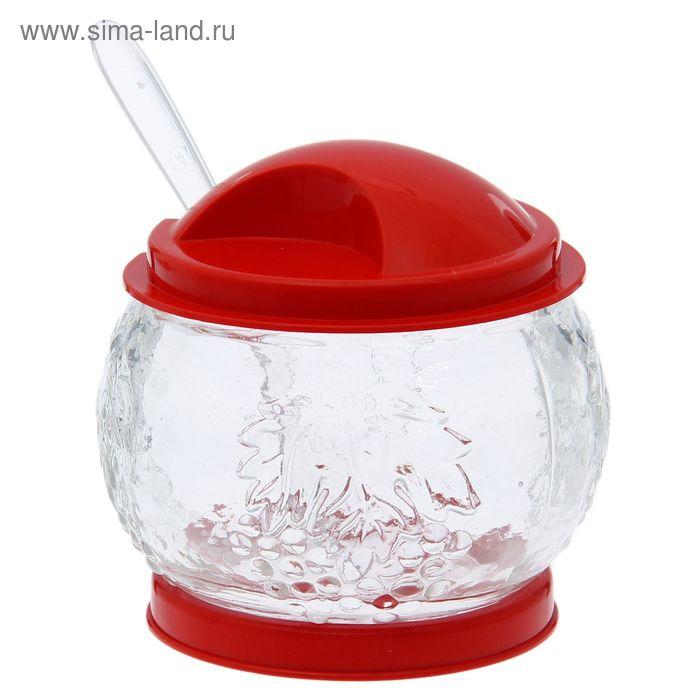 "Сахарница ""Смородинка"", стекло, цвет МИКС"